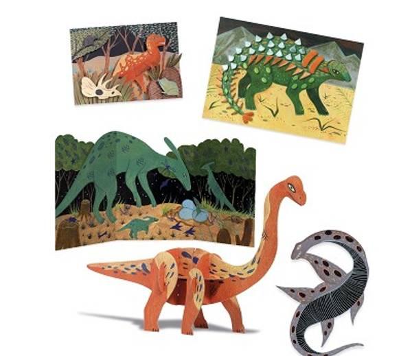 Bilde av STORT HOBBYSETT - Dinosaurer - Djeco