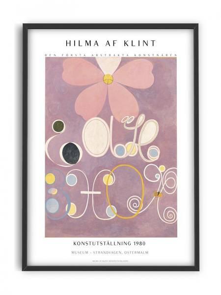 Bilde av PLAKAT - Hilma af Klint - Abstrakta - 30x40