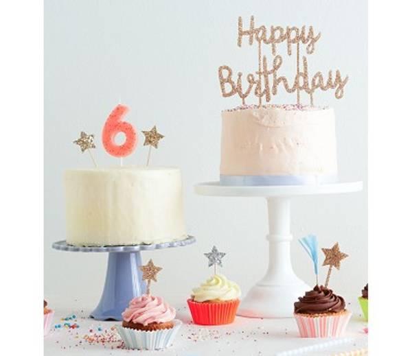 Bilde av KAKETOPP - Happy Birthday - Meri Meri