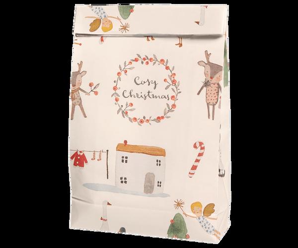 Bilde av GAVEPOSE - Cosy Christmas - Off White - Maileg