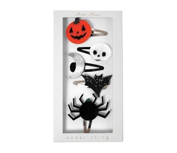 Bilde av HÅRSPENNER - Halloween - Meri Meri