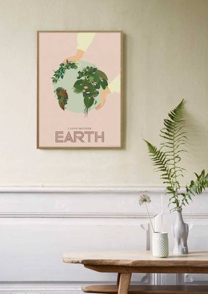 Bilde av PLAKAT - Jorden - Vissevasse