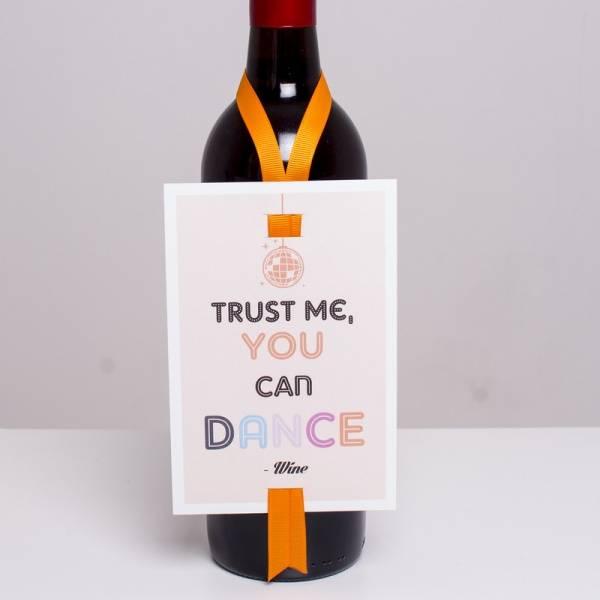 Bilde av VINKORT - Trust Me You Can Dance