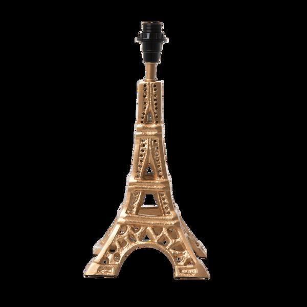 Bilde av LITEN LAMPEFOT - Eiffeltårn - Gull - Rice