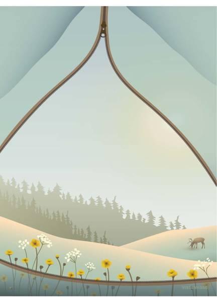 Bilde av PLAKAT - Tent With A View - Vissevasse
