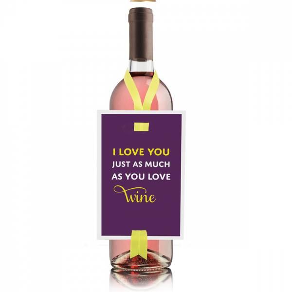 Bilde av VINKORT - I Love You Just As Much As