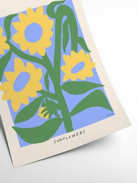 Bilde av PLAKAT - Madelen - Sunflowers II - 50x70