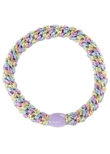 Bilde av HÅRSTRIKK - KKnekki - Mix Lavender-Seablue Glitter - Bon