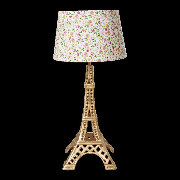 Bilde av LAMPEFOT - Eiffeltårn - Gull - Rice