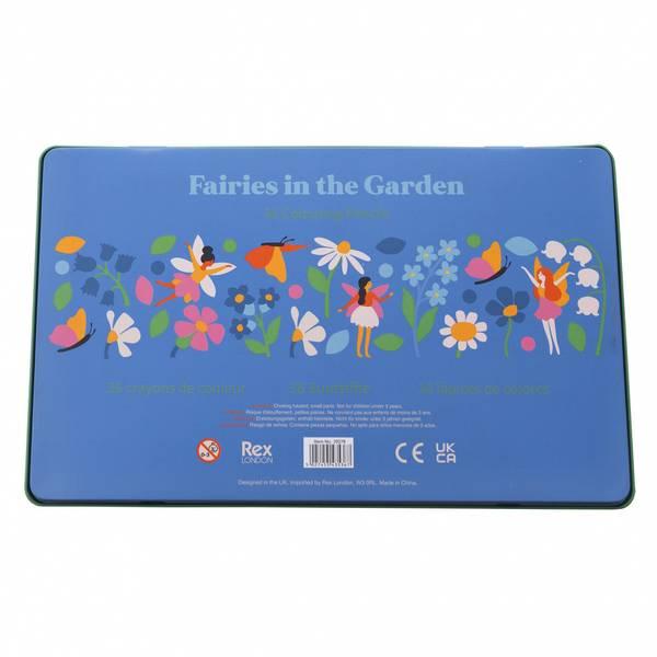 Bilde av FARGEBLYANTER - Fairies in the Garden